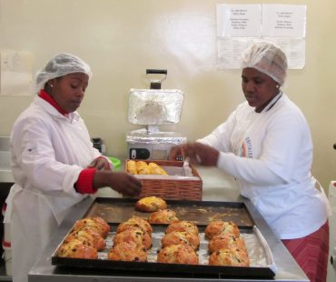 Bakery Project, providing skills development for young people