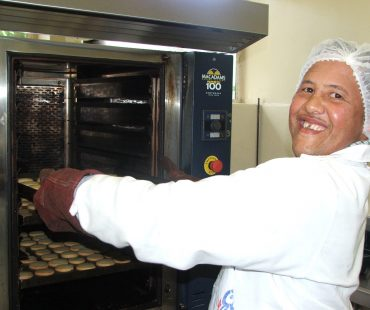 Bakery Project ensuring providing meaningful work