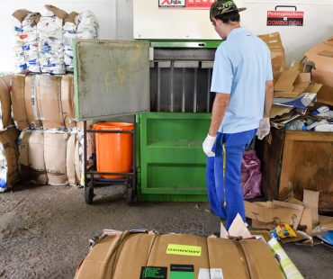 Recycling Project, providing work for adults with intellectual disabilities
