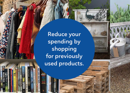 Reduce your spending by shopping for previously used products at Oasis